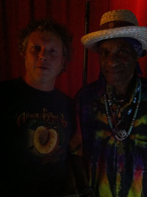 With Cyril Neville - North Sea Jazz Club Amsterdam