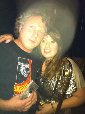 With Sarah Morrow (Dr. Johns Nitetrippers) - North Sea Jazz Club Amsterdam