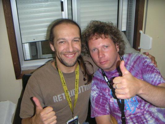 With Todd Smallie - Peer, Belgium