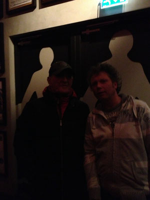 With Jan Akkerman, Amsterdam