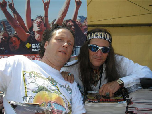 With Gregg T. Walker (Blackfoot) - NL