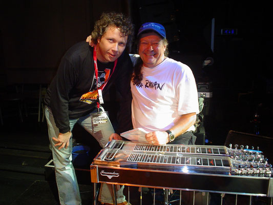 With Buddy Cage (New Riders of the Purple Sage) - Paradiso, Amsterdam
