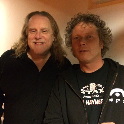With Warren Haynes, R&B Night, Oosterpoort Groningen May 2015