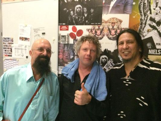 With Junior Watson & Hook Herrera, Frederickshavn Bluesfestival, Denmark, Nov 07 2015