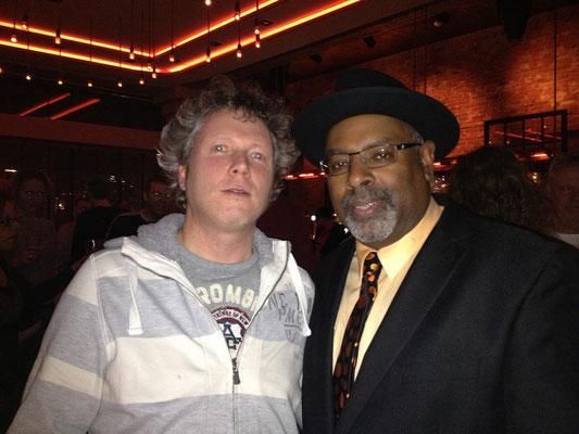 With Junior Mack - Amsterdam