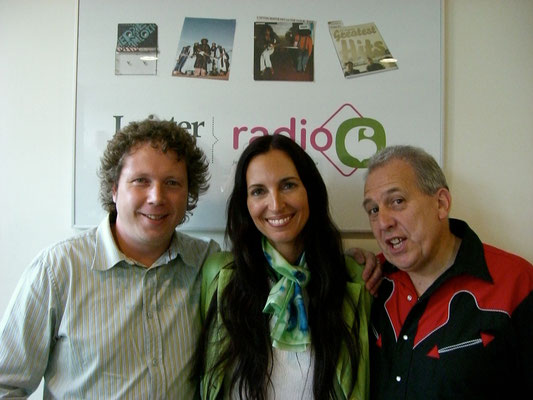 With Barbara Dennerlein and my friend Paul Harvey - Hilversum NL