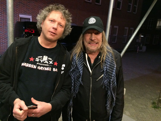 With Matt Abts, R&B Night, Oosterpoort Groningen May 2015