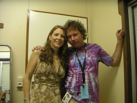 With Susan Tedeschi - Peer, Belgium