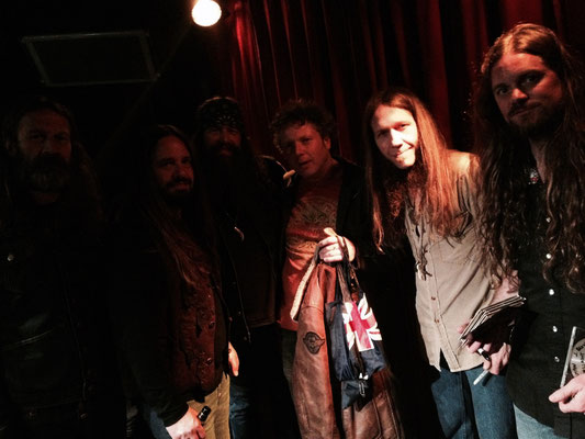 With Blackberry Smoke - Winston, Amsterdam NL