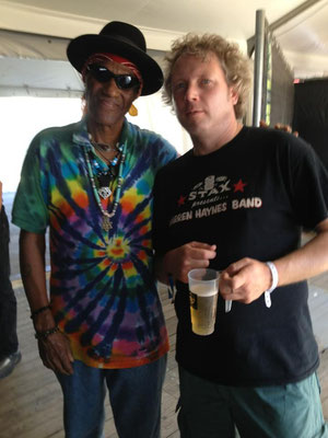 With Cyril Neville the uptown ruler - Peer Belgium, Belgium Rhythm & Blues Festival