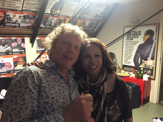 With Muscle Shoals Legend Candi Staton, North Sea Jazz Club Amsterdam, July 8th 2015