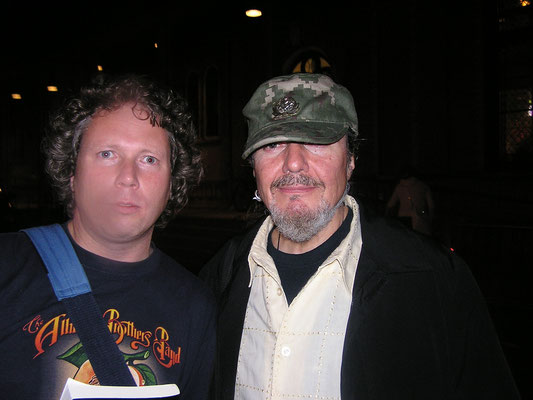 With Dr. John - Paradiso, Amsterdam