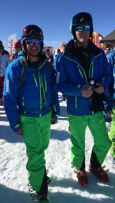 Die JO Leiter Marco und Florian