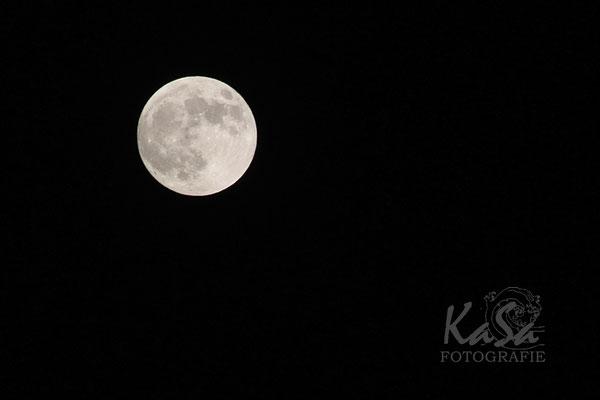 der Mond über der Finca