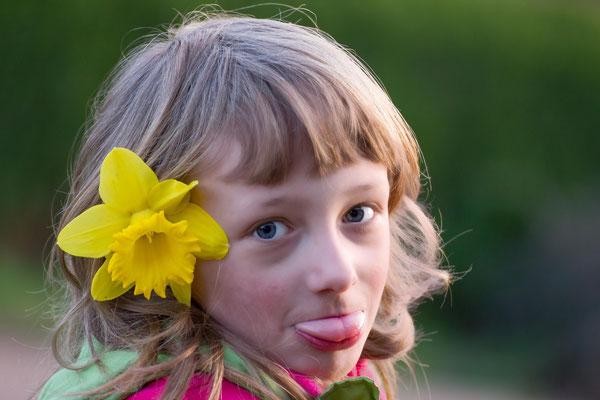 Portrait vom Mädchen