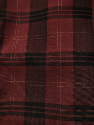 Karo-rot 200 cm Länge