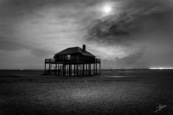 crépuscule de l'ile photo jean Duffour