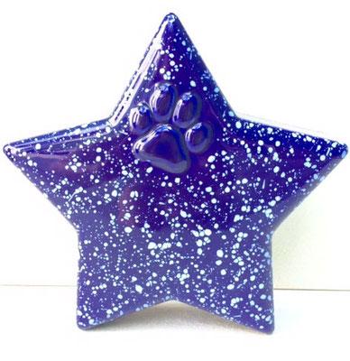 weiß glänzend oder sternenhimmel mit oder ohne Pfote: 0,4 l = 115,00 EUR