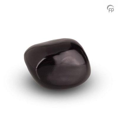 Kuschelstein (6 cm) 61,00 EUR ( 018 - glänzend schwarz)