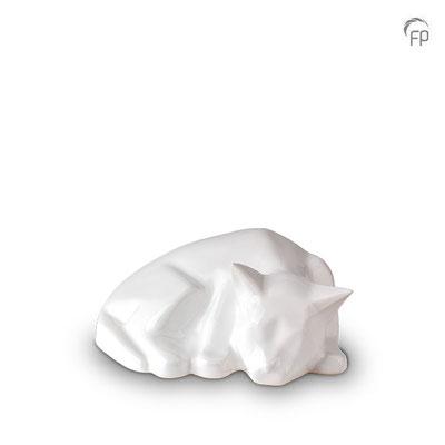 Katze weiß glänzend 0,60 l = 141,00 EUR