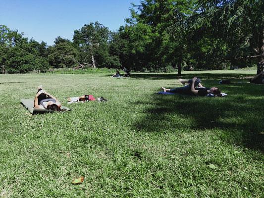 Séances Pilates au parc Bordeaux