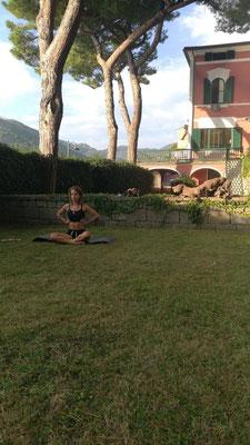 Cours de Pilates en Italie
