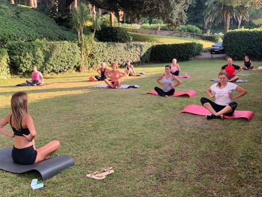 Pilates retreat