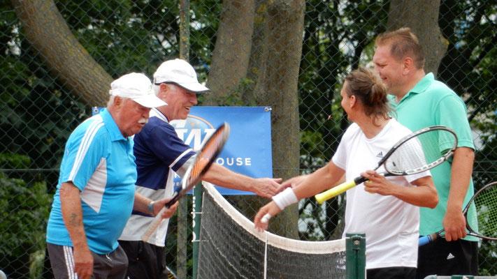 Herren-Doppel : Winni Damerau/Gerd Schulte - Michael Krüger/ Daniel Schinmeyer