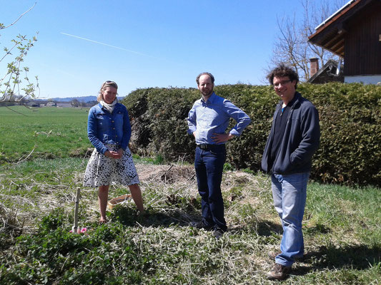 Amara sowie die Architekten Guntram Stoehr und Ralph Ameis