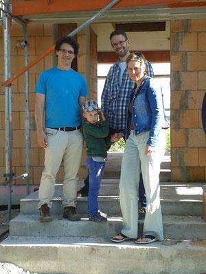 Architekt Ralph Ameis, Matteo, Sascha und Amara