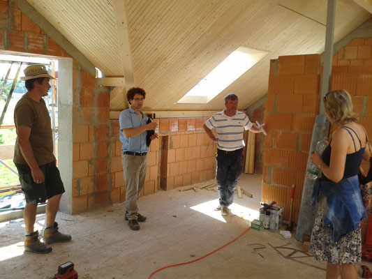 Dach, Architekt, Sanitär und Amara