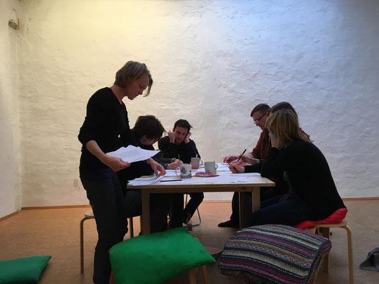 Gruppenarbeit in der Sprecherausbildung / Bild: Sprechstil Atelier