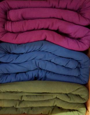 Jersey aus hanf und Organic Cotton in tollen uni Farben