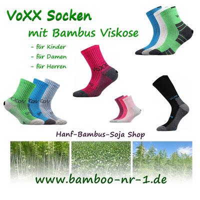 Exklusive VOXX Socken aus Bambus Viskose für die ganze Familie