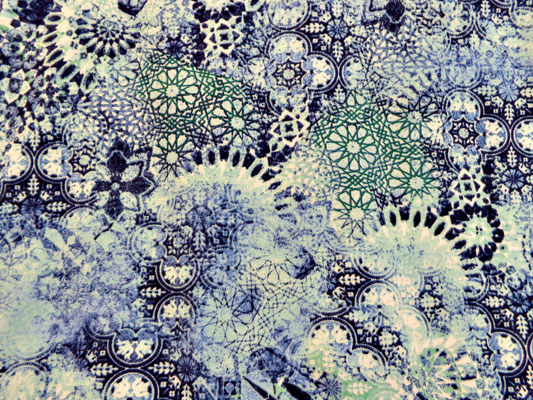 Designer Jersey Mandala Motiv