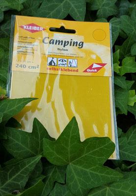 Camping Nylon selbstklebend, gelb