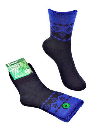 Thermo Bambus Socken für Kids und Erwachsene - marine