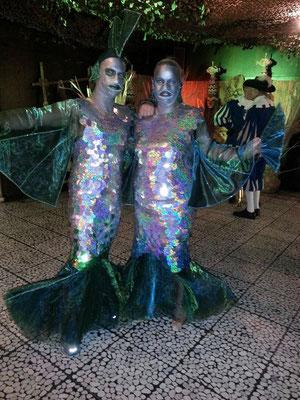 Karnaval Kostüme im Doppelpack - Fischzauber