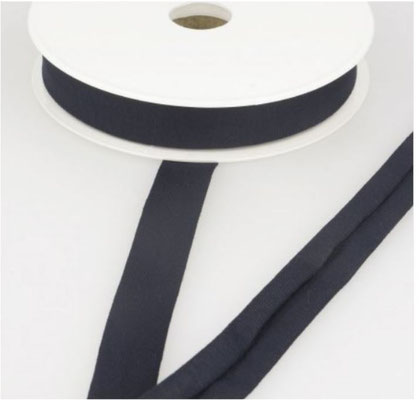 Jersey Schrägband, Farbe navy