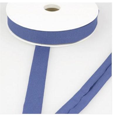 Jersey Schrägband, Farbe jeansblau