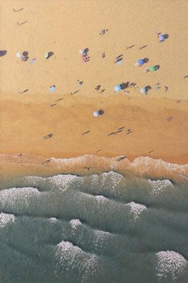 Low Tide, 195 x 130 cm, óleo sobre lienzo