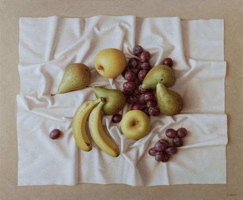 Fruits, 60 x 73 cm, óleo sobre lienzo, 2011