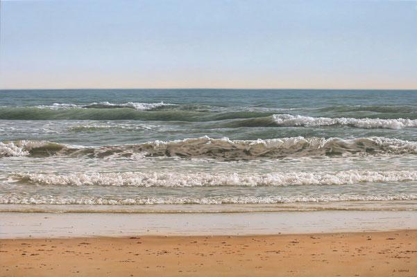 Sea, 54 x 81 cm, óleo sobre lienzo