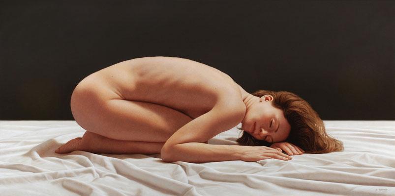 Nude, 50 x 100 cm, óleo sobre lienzo, 2012