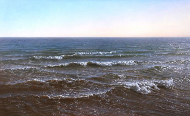 Atlántico, 89 x 146 cm, óleo sobre lienzo