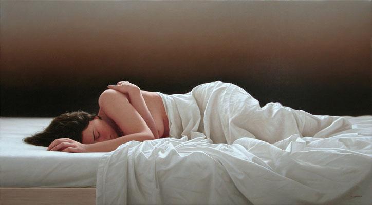 Muse I, 65 x 116 cm, óleo sobre lienzo, 2004