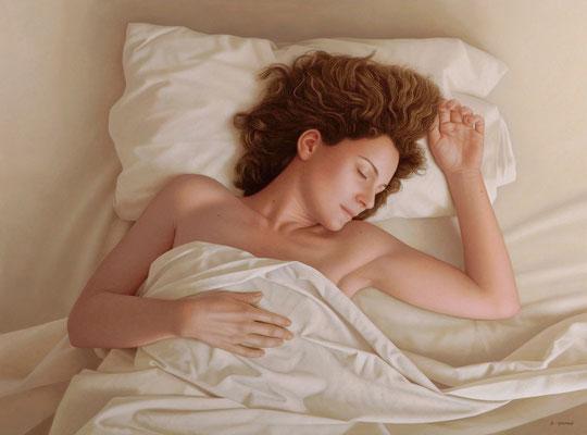 Dreaming, 60 x 81 cm, óleo sobre lienzo, 2011