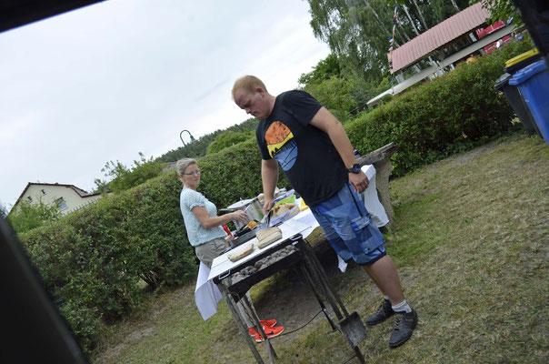 Die Mühe von Ingolf und Britta lohnt sich.