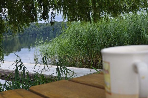 Ein starker Kaffee am nächsten Morgen ...