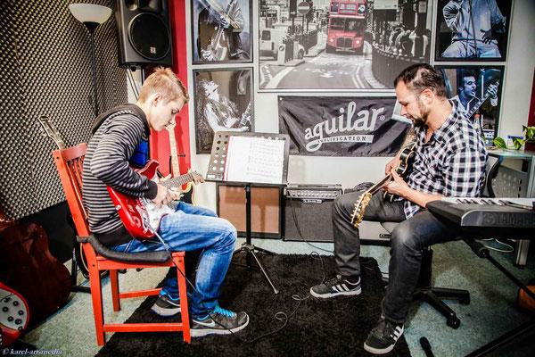 E-Gitarren Unterricht in Nürnberg Guitarr Secrets